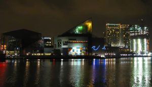 Inner Harbor Lights by cheslah