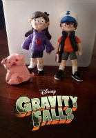 Gravity Falls Clay Statuettes by sugarbearkitty