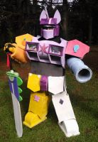 Foaltron: The Megazord of Harmony (Front) by GusTheBard