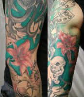 Mix New School Cover TaT by 2Face-Tattoo
