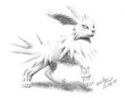 Jolteon sketch II by Eclipsis