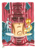 Galactus and Friends by OtisFrampton