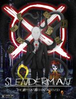 Slenderman Mock Movie Poster by Di-Cape