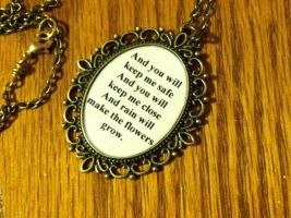 Les Miserables Lyrical Pendant by ShezgottaSmilez
