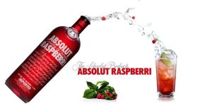 Absolut Raspberri - Splash by krislb