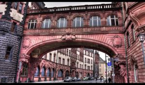 Street archway by sylaan