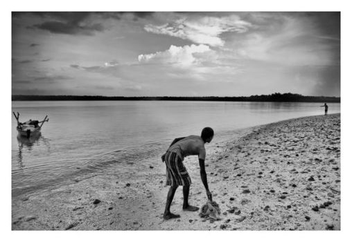 Local Fisherman at Andaman by derozio
