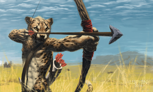 Cheetah Archer by Luphin