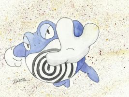 Kanto no. 062 Poliwrath by Randomous