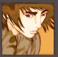 Kil Dong's Face .:Colored:. by Antomarsi