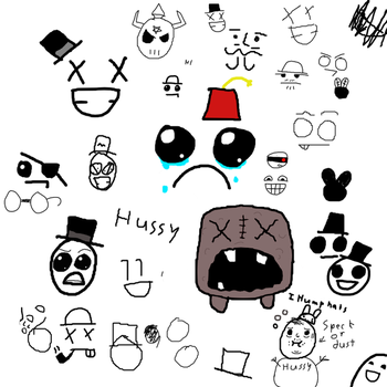 Faces by flyntnsteal