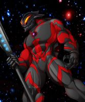 Ultraman Belial by Giga-Leo