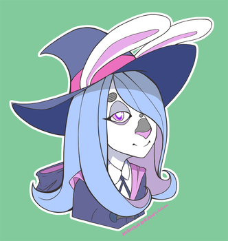 Val headshot commission by Puzzlr
