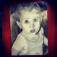 cute baby portrait by PeterVsAll