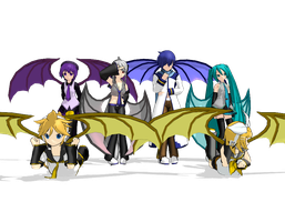 MMD Chimera Pack DL by InsaneChibi