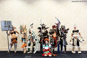 Monster Hunter Group. Closet Vegans. by JFamily