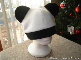 Panda Hat V2 by Allyson-x