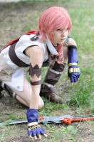 Lightning Final Fantasy XIII by AshreiMEW