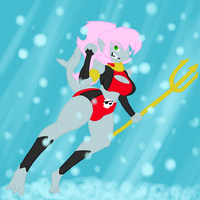 Rogue of the sea, Bubbleshark by PainfulElegy