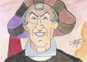 Judge Claude Frollo by Cola-Addicted