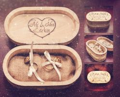 Wedding Ring Box by CosmosCrafts