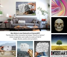 My art now for sale on iCanvasART by BenHeine