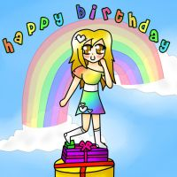 HAPPY BIRTHDAY LILY by turquoiseted