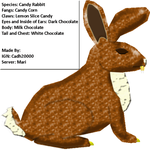Candy Rabbit - for contest by C-Hillman