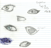 Eye Practice 2013 by kimmie456