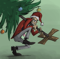 How the Eurasian Thief Stole Christmas by Raaynee