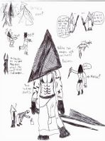 Pyramid Head by Bealzabuth