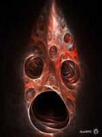 The Scream by psion005