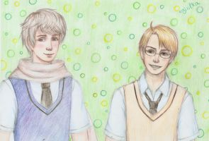APH: Russia and America (updated version) by Yume-no-Kamila