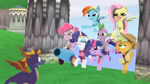 The Mane 6 Discovers Artisant Home by 19crowbar19