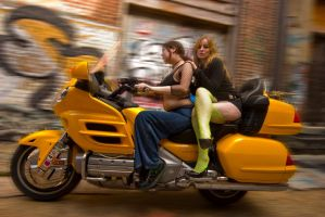 Sleazy Rider by CurvedLightStudio
