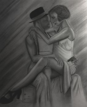 Bonnie and Clyde (re-touch) by dcorrigan