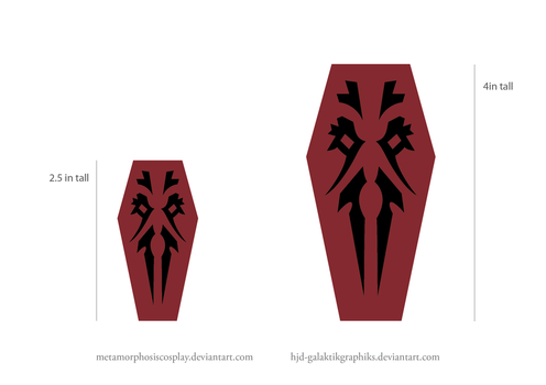 Undertaker Patch for Guilty Crown by MetamorphosisCosplay