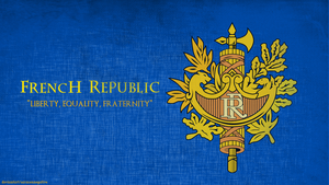 French Republic Coat Of Arms by saracennegative
