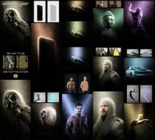 Mystical Light Photoshop Action by GraphicAssets