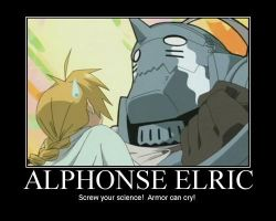 screw you science:fullmetal alchemist style by markdean2012