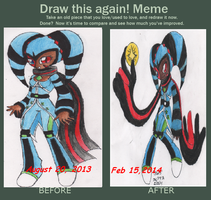 Before and After Meme Stars by RockStarMaren123