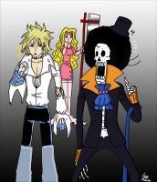 Brook and Faust by Issoman