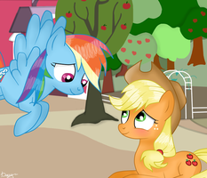 AJ and RD: I'm around by Lelka-Philka