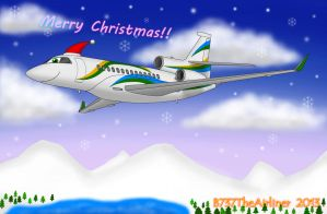 Merry Christmas 2013! by B737TheAirliner