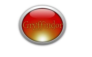Gryffindor Button by HuntressxTimeLady
