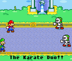 We are the Karate Duo. by Dann-The-Yoshi