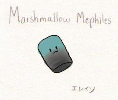 Marshmallow Mephiles by soggycereal