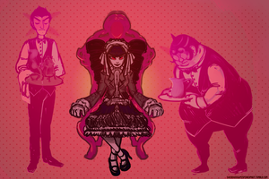 First Rate Vampire Butlers by comerecupcakes