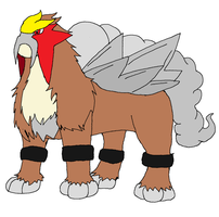 Entei by XfangheartX