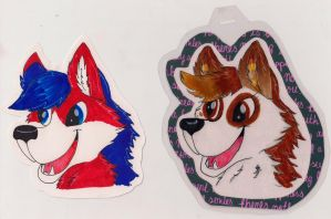 Toon badges by blizyrockets